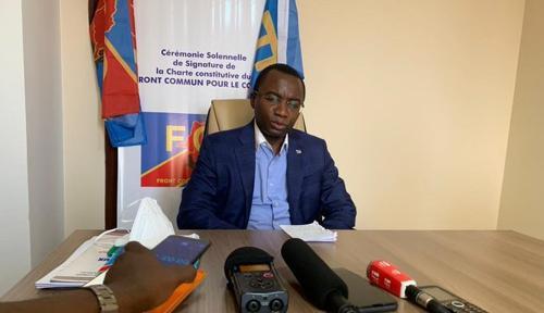Néhémie Mwilanya : « Au centre des intérêts du FCC se trouve le Congo d'abord »
