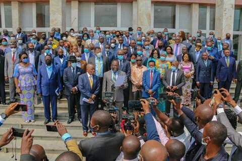 Assemblée nationale : 312 députés FCC renouvèlent leur confiance au bureau Mabunda