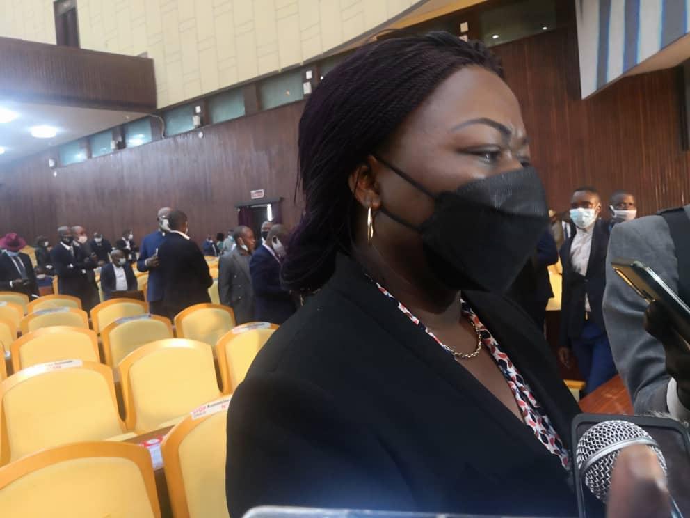 Assemblée nationale : La députée FCC Geneviève Inagosi taxe la pétition contre Mabunda d'être teintée de corruption et de fraude