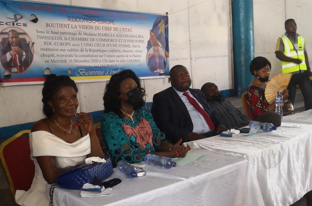 RDC: Restitution des consultations nationales aux Oubliés de la République par Luboya Kaba et Isabelle Kibassa Maliba Tshisekedi