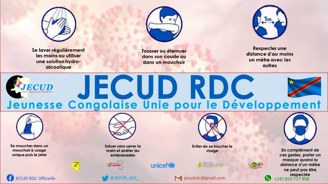 Développer la RDC à la base par les jeunes, c'est le cheval de bataille de JECUD-RDC