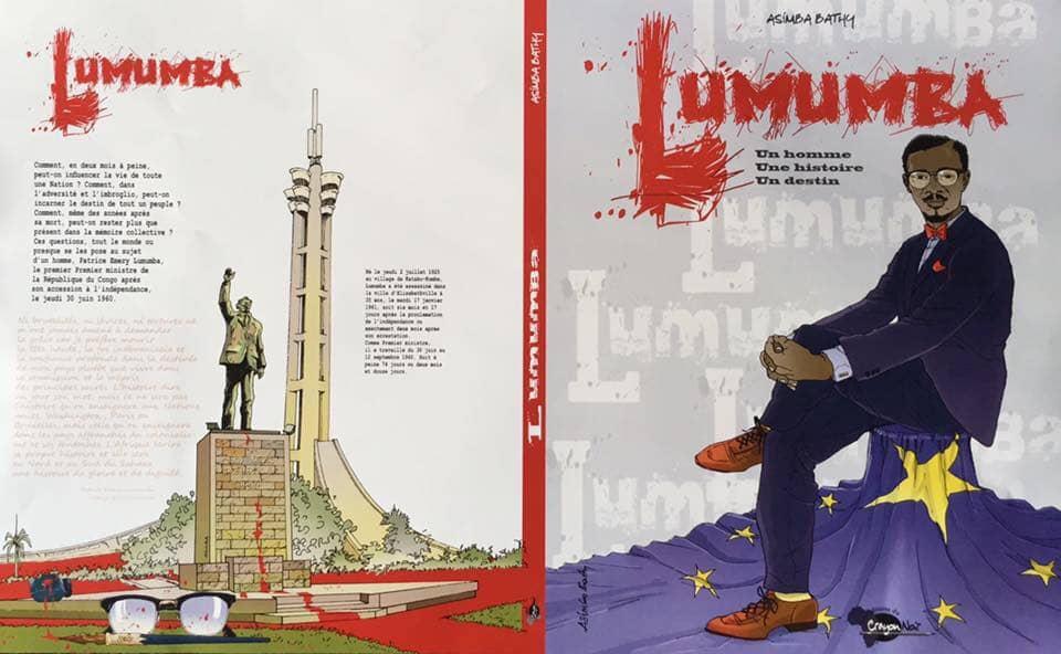 Culture : La bande dessinée sur la vie de Lumumba de Bathy Asimba sera disponible ce mardi en Belgique