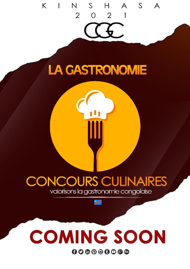 Concours Gastronomique Congolais : Appel à candidature lancé du 03 février au 04 mars prochain