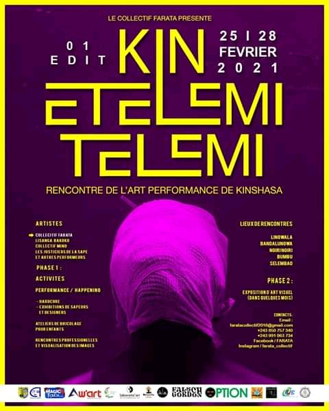 Performance artistique : le Collectif Farata va présenter Kin Etelemi Telemi du 25 au 28 à Kinshasa