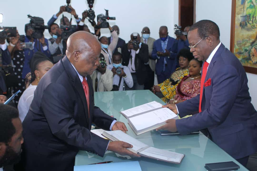 Cérémonie de remise et reprise au Sénat : Modeste Bahati promet de s'impliquer personnellement pour une issue heureuse de réformes