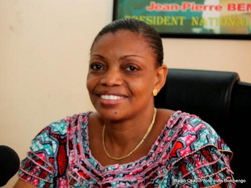 RDC : Eve BAZAIBA, future ministre de la justice du gouvernement Sama Lukonde !