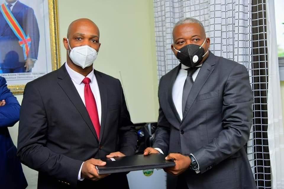 RDC-Presse présidentielle : le nouveau Directeur de communication Erick Nyindu a pris officiellement ses fonctions ce vendredi 2 avril