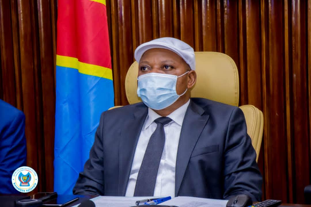 Assemblée nationale : Jean-Marc Kabund sollicite l'aide de l'Union interparlementaire pour les sinistrés de l'éruption volcanique du Nyiragongo