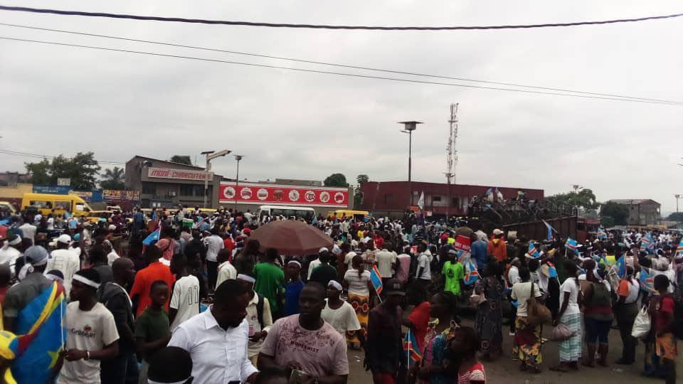 Kinshasa : Démonstration des forces, Lamuka déjà sur terrain pour sa marche de solidarité à la population de l'Est (Situation à 09h40′)
