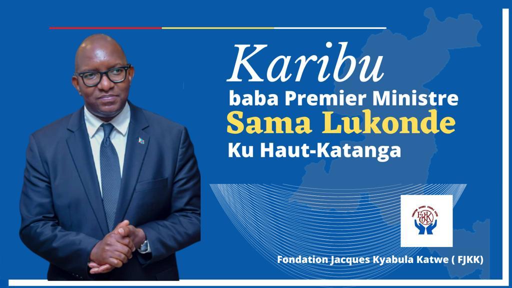 Haut-Katanga : Le Premier ministre Sama Lukonde attendu ce vendredi 30 avril à Lubumbashi