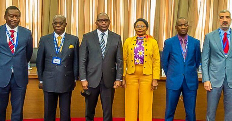 RDC/Primature : Albert YUMA et les personnels de la GECAMINE apportent leur soutien au premier ministre Sama Lukonde