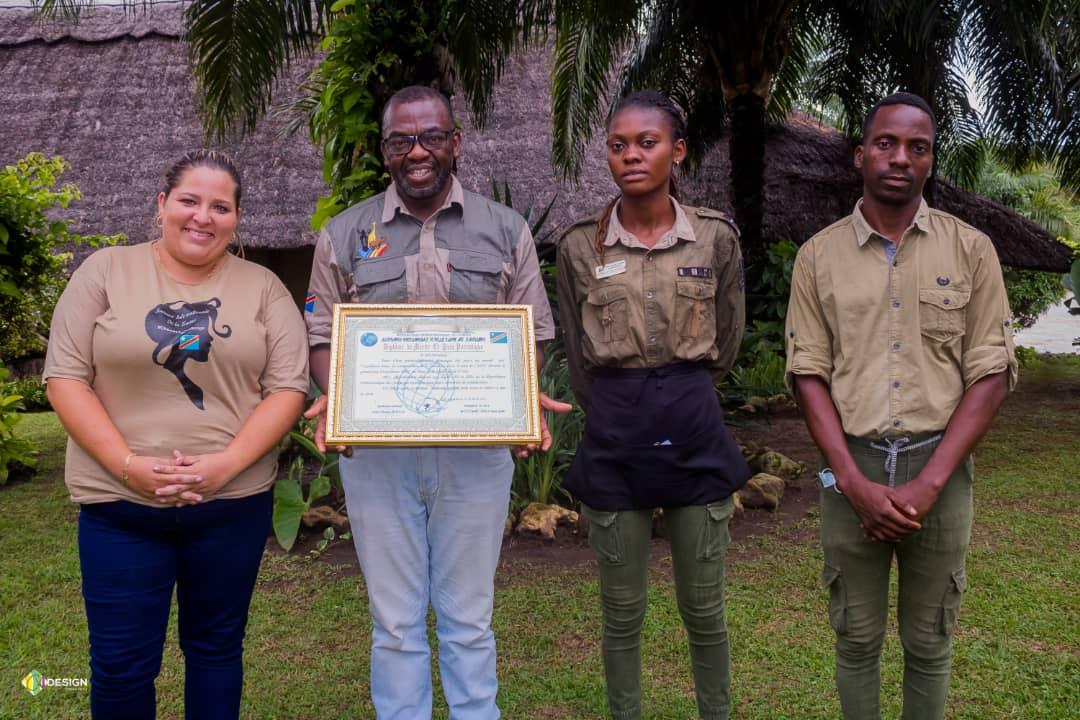 RDC : Le Parc de la Vallée de la N' Sele gratifié d'un diplôme de Mérite et prix Patriotique de l'A.I.P.L