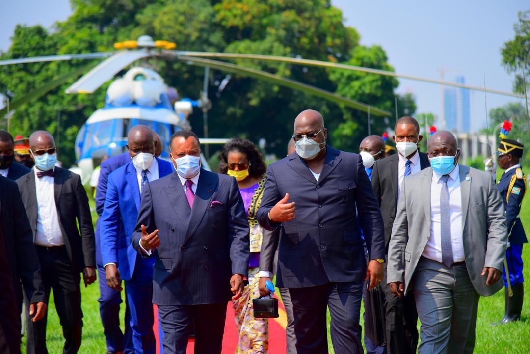 Diplomatie : Denis Sassou Nguesso à Kinshasa