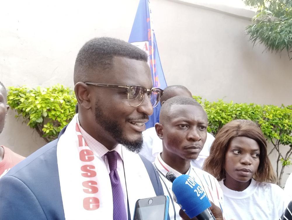 RDC-JMCJ : Joseph Mabiti Asito martele sur la compétence des jeunes et la création d'emploi
