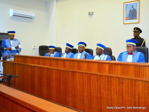 RDC : La Cour Constitutionnelle valide les deux ordonnances du chef de l'État sur l'état de siège et la nomination des officiers supérieurs militaires au Nord-Kivu et Ituri