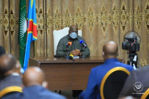 Présidentielle 2023 : Félix Tshisekedi rassure «je tiens à l'organisation d'un processus électoral crédible»