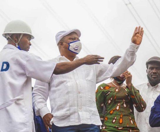 Kinshasa : Vers la réhabilitation du petit pont sur l'avenue Bulungu, Jean Marc Kabund, attendu ce samedi à Ngaba