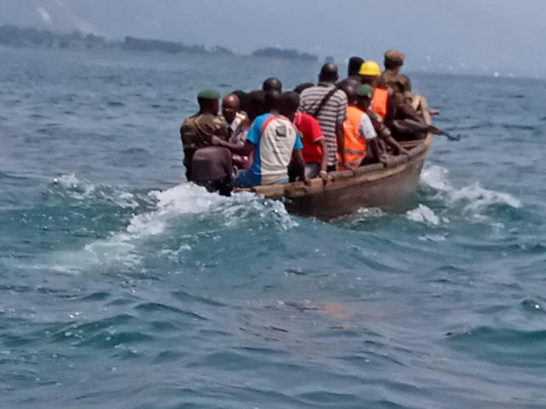Sud-Kivu : Naufrage à Katongo dans le Lac Tanganyika sur l'axe Uvira-Baraka, 19 personnes disparues, 11 rescapées