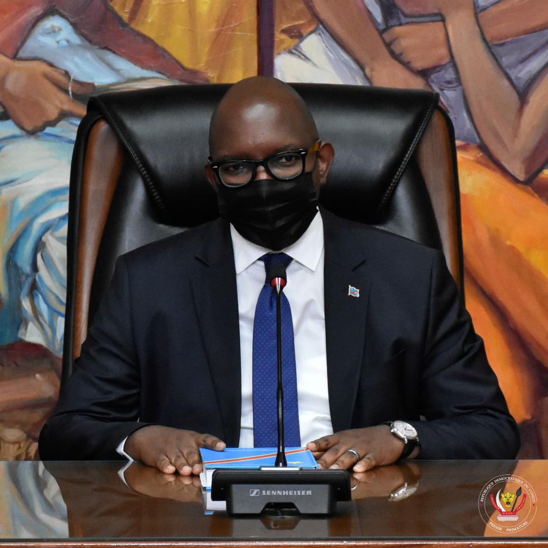 PRIMATURE : le Premier Ministre Sama Lukonde appelle les Congolais au respect des mesures barrières face à la 3e vague de Covid-19