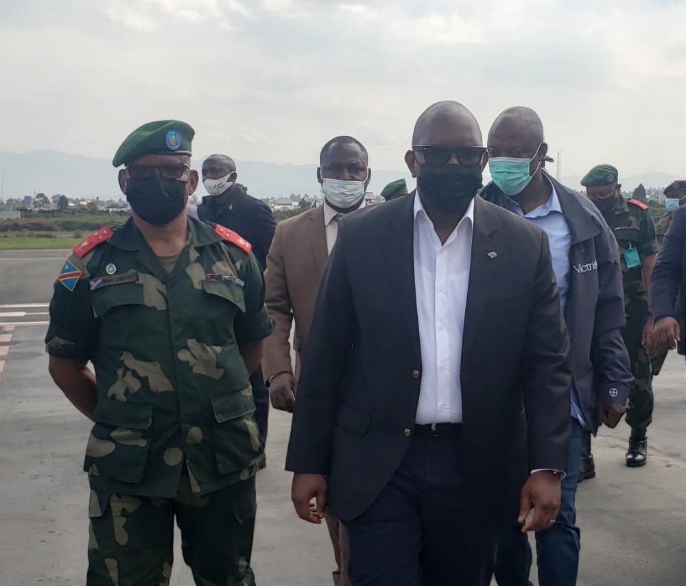 Nord-Kivu : Sama Lukonde séjourne à Goma pour apporter un soutien aux populations et faire le suivi de l'état de siège