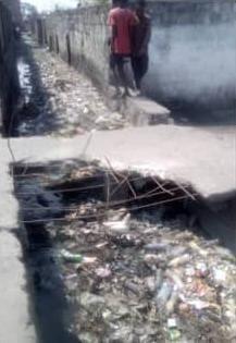 Kinshasa/Ngaba : Le petit pont sur l'avenue Bulungu court un risque d'effondrement