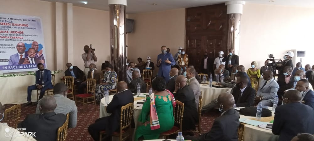 RDC/Prévoir les catastrophes naturelles partant de l'éruption volcanique : Le ministre José Mpanda lance les travaux de la Table Ronde Scientifique à Kinshasa
