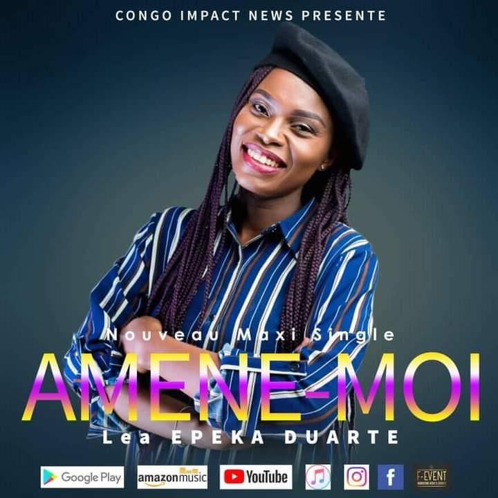 Musique : Sœur Léa Duarte Epeka annonce la sortie prochaine de son maxi single baptisé «AMÈNE-MOI»