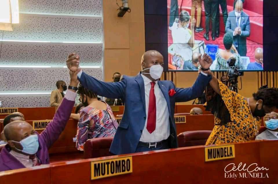 Rdc-Sénat : Eddy Mundela brillamment élu à la vice-présidence par ses pairs