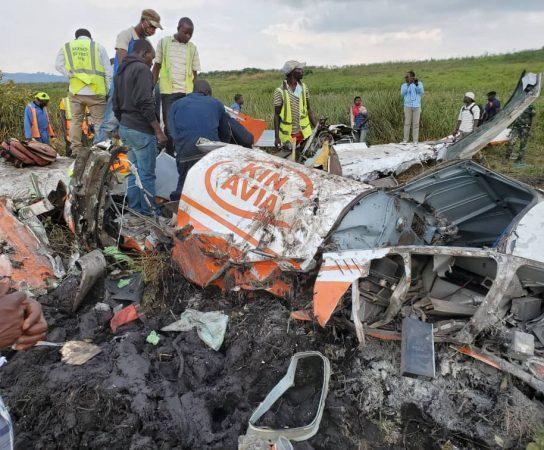 Sud-Kivu : Crash d'un avion à l'aéroport national de Kavumu fait trois morts