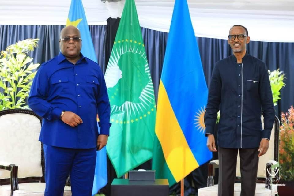 Diplomatie : Tête-à-tête ce samedi, à Goma entre Félix TSHISEKEDI et Paul KAGAME