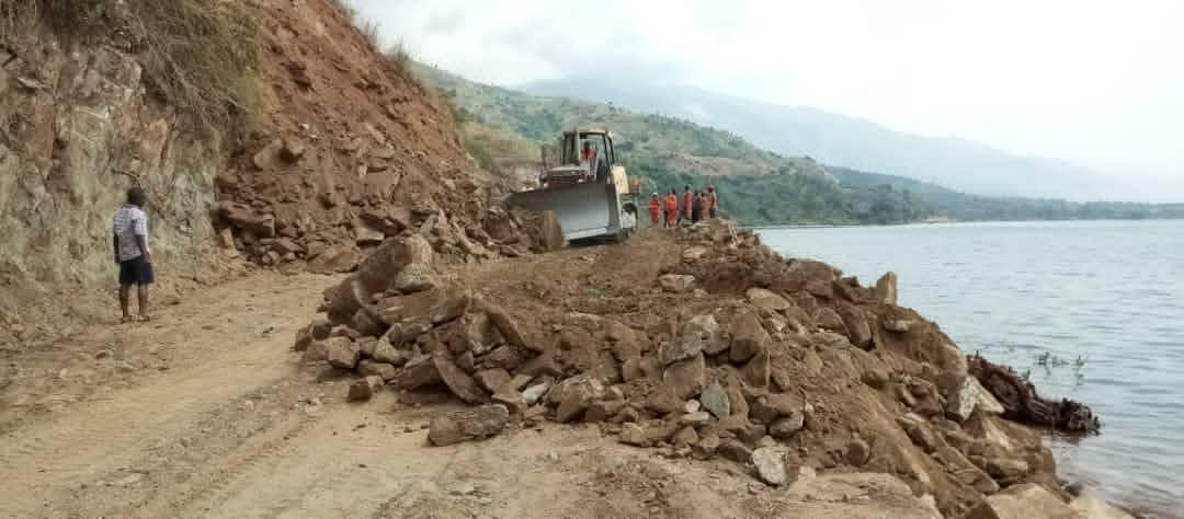 Sud-Kivu/Uvira: Évolution des travaux de dynamitage à Luhanga sur la RN5
