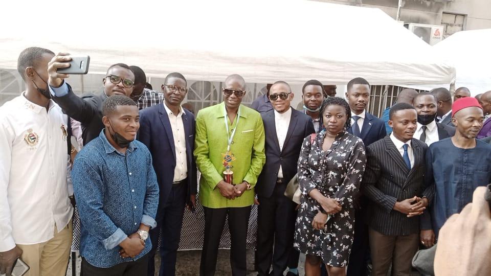 Médias : Le COJEC très congratulé à l'investiture de Jean Marie Kassamba sacré, Président provincial de l'UNPC/Kinshasa