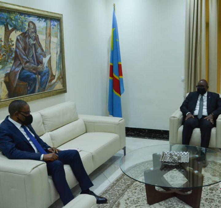 RDC : Des questions sécuritaires et socio-économiques au centre des échanges entre le Premier Ministre Jean-Michel Sama Lukonde et le Gouverneur du Sud-Kivu Théo Ngwabidje