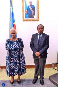 Constitution du bureau de la CENI : Bintou Keïta plaide auprès de Modeste Bahati sur la prise en compte de la représentativité de la femme