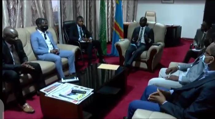 Diplomatie-RDC: le Vice ministre Samy Adubango à l'écoute de la diaspora éprise de l'amour de la patrie !