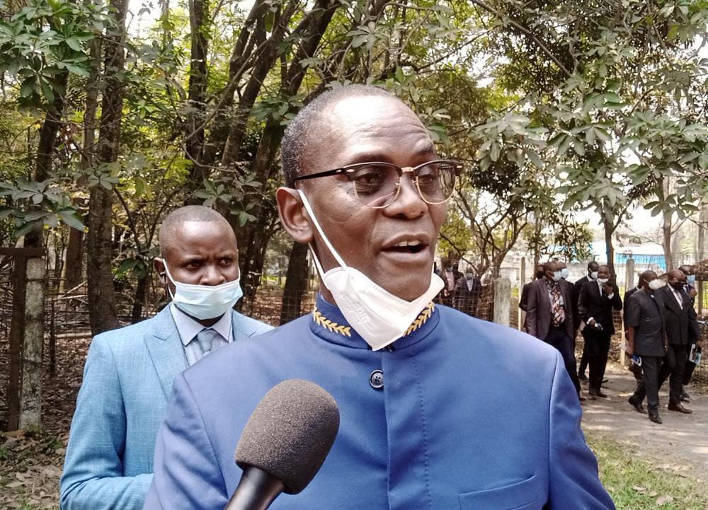 Zoo de Kinshasa bientôt rénové : l'honorable Déo NKusu aux anges