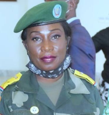 RDC-JIJA : la Ltcol Nénette Mukembe s'exprime «nous sommes un bon investissement pour l'Afrique»