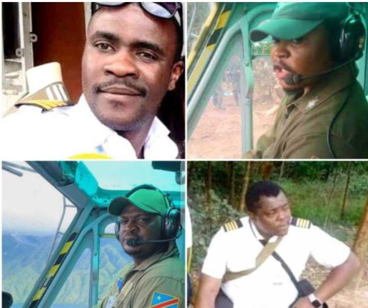 RDC : Inhumation ce samedi, des 4 pilotes FARDC, péris lors du Crach en Ituri