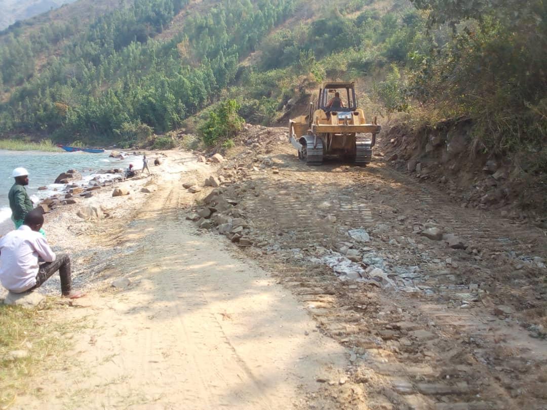 Sud-Kivu/Fizi : Démarrage des travaux de réhabilitation du tronçon routier Pemba dans le secteur de Tanganyika