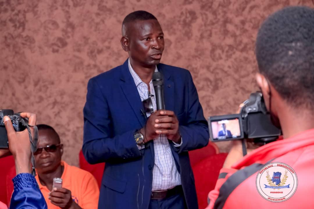 Programme DDRCS : Thierry Kasongo expert en protection Enfants promet son appui technique à Tommy Tambwe Runiga