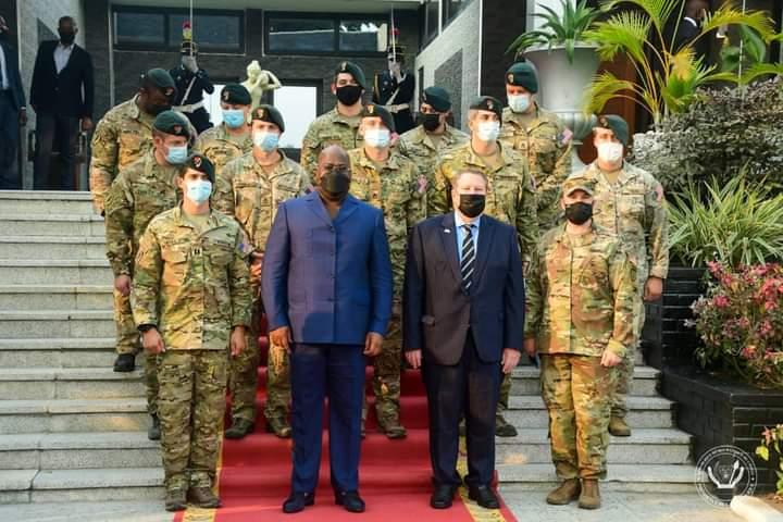 RDC-Diplomatie : Le Président Félix Tshisekedi a reçu l'équipe des forces spéciales américaines