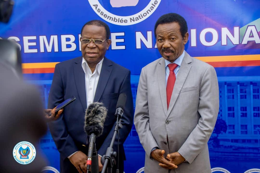 Assemblée nationale : Mboso et Bahati se concertent sur la prochaine rentrée parlementaire de Septembre