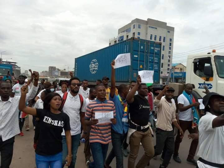 Kinshasa : Une marche pacifique contre la taxe antisociale RAM projetée pour le jeudi 02 septembre prochain à Kinshasa