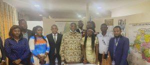 RDC-Médias : Une délégation du COJEC reçue en audience par l'honorable Alexis Mutanda