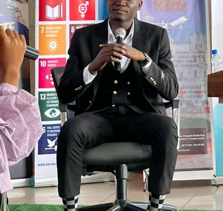 RDC: Exaucé Matadi exhorte les jeunes congolais d'entreprendre dans le secteur digital