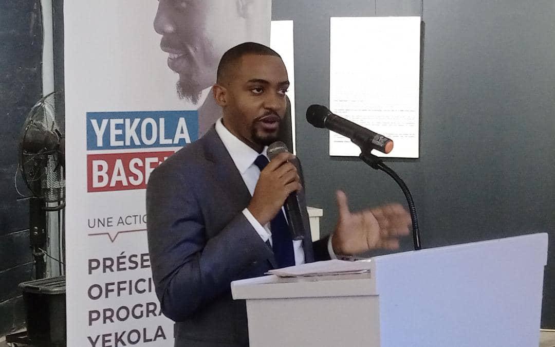 Kinshasa : En marge du lancement officiel du programme » Yekola base», Giovanni Bul'anSung s'engage à garantir une formation professionnelle aux candidats inscrits