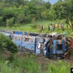 Lualaba : 25 morts et des blessés graves à la suite d'un déraillement de train