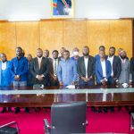 Assemblée nationale : Eliezer Ntambwe conduit une délégation de mouvements citoyens auprès de Mboso